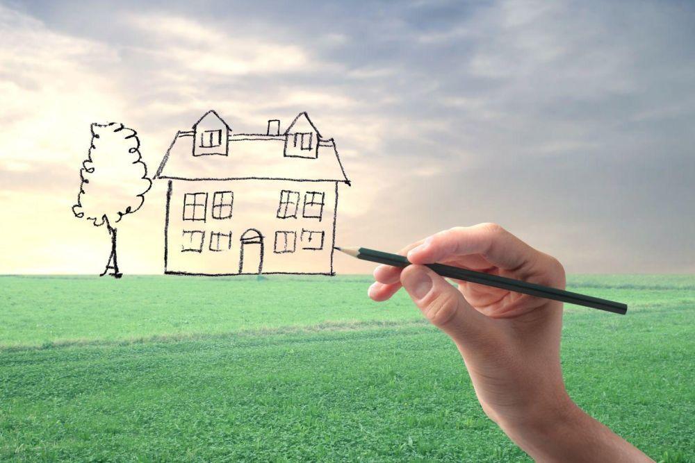земельный участок для строительства дома?