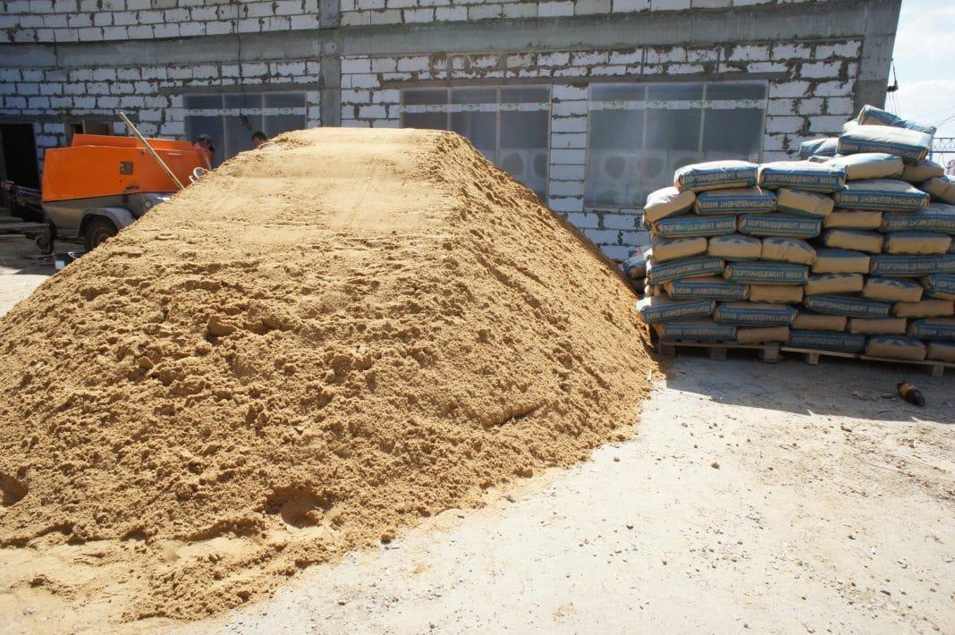Использование песка в строительстве