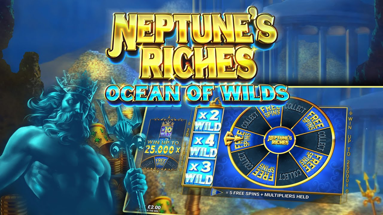 Игровой автомат Neptune's Riches: Ocean of Wild